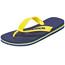 havaianas Brasil Logo Sandalen Heren geel/blauw